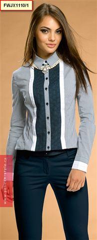 Fwjx1110 блузка женская