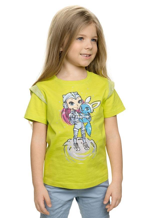 c798577eaf2 GTR384 1 джемпер (модель «футболка») для девочек - Детская и женская ...