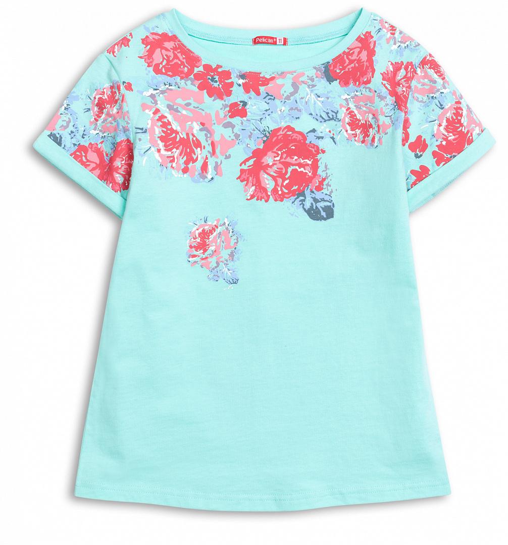 708920d87e1 Главная · PELICAN для девочек  GFT4016 1 футболка для девочек. GFT4016 1