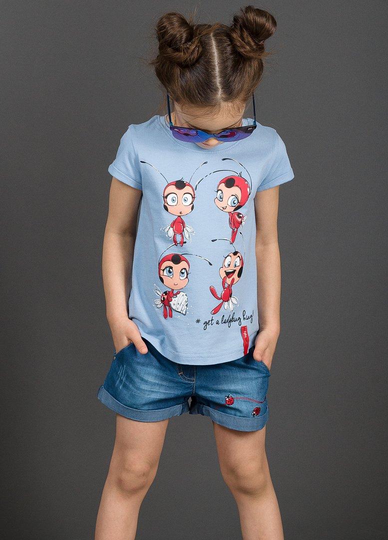 9f1b2d04425 GFT3048 1 футболка для девочек - Детская и женская одежда Пеликан ...
