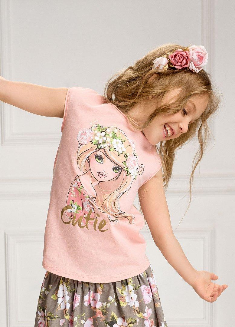 9eb97b22f2e GFT3052 1 футболка для девочек - Детская и женская одежда Пеликан ...