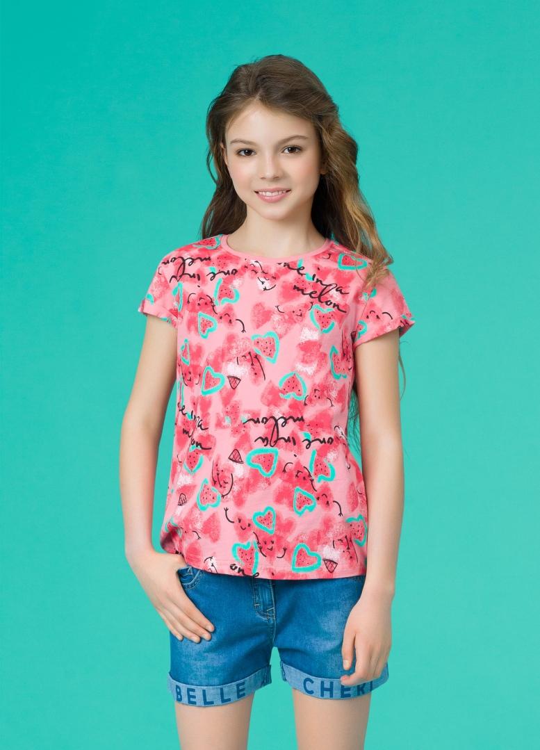 081e6a88fc5 GFT4068 1 футболка для девочек - Детская и женская одежда Пеликан ...